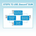 2baconil 2mg Nicotine Gum For Quit Smoking and tobacco (for Less Than 20 Cigarettes per day Smoker)