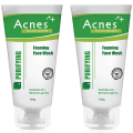 Acnes Purifying Foaming Face Wash (Pack Of 2) 100 gm