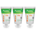Acnes Whitening Clarifying Face Wash (Pack Of 3) 50 gm