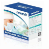 Newnik Disposable Elastic Face Mask 2Ply -100 Pieces (White)-2