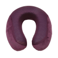VIAGGI Cooling Gel Neck Pillow - Egg Plant