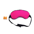 VIAGGI Microbeads Eye Mask With Ear Plugs - Pink