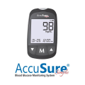accusure simple gluco meter with 25 strips